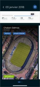 Visualisation du match